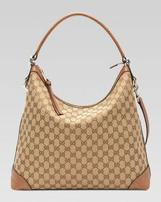 7acda3f9e21f Gucci Miss GG Original GG Canvas Hobo