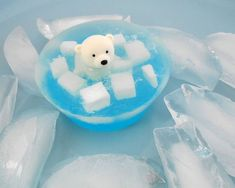 Polar Bear Perfumed Soap