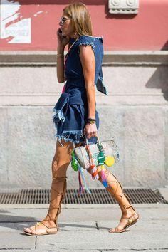 Sunday's Inspiration: Gladiator Sandals   BeSugarandSpice - Fashion Blog