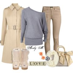 """""""Comfortable Autumn Date"""" by andym8 on Polyvore"""
