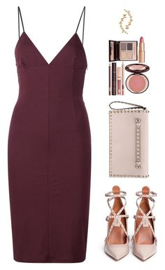 """Sin título #3936"" by mdmsb on Polyvore featuring moda, T By Alexander Wang, Valentino y Charlotte Tilbury"