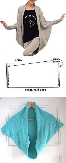 Cómo coser una chaqueta de punto (suéter, chaqueta) del género de punto | & quot; de corte y costura para principiantes Sastres & quot;