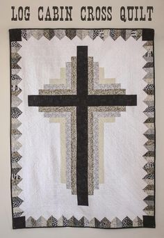 Log Cabin Cross Quilt