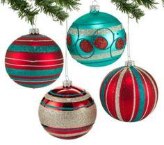 retro DIY ornaments