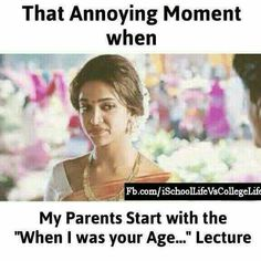 """Hhhhhhhhh for me, i try to remember that they are my parents""""MARAM they are your parents , support them 😡😠,PLZ. Funny School Memes, Very Funny Jokes, Crazy Funny Memes, Really Funny Memes, Funny Relatable Memes, Funny Facts, True Facts, Hilarious, Whatsapp Fun"""