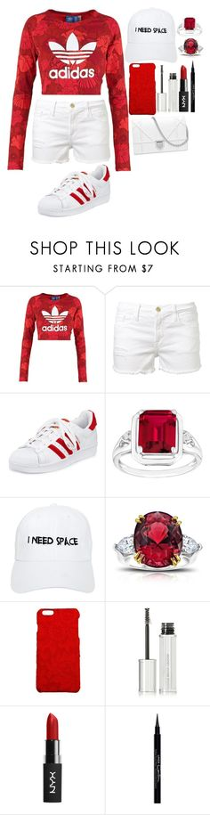 """""""Untitled #628"""" by mfr-mtz ❤ liked on Polyvore featuring adidas Originals, Frame Denim, adidas, NASASEASONS, Dolce&Gabbana and Givenchy"""