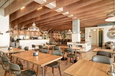 HAFEN by Susanne Fritz Architekten | Restaurant interiors