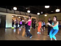 Pharell Williams - happy Zumba Sandra Fitness - YouTube this looks excellent