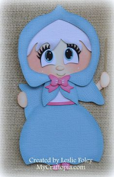 Disney Godmother Premade Scrapbooking Embellishment by MyCraftopia, $5.95