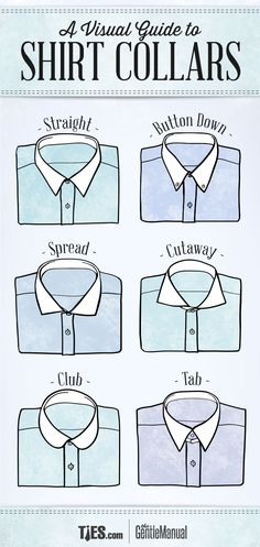 """Buying a shirt for work or play should never be a flash in the pan decision. There are lots of things to consider; the fit – slim or regular, the cuffs - double or button, the pattern – stripe, cheque or plain, and finally, the collar. So, before you blow all your Christmas money, be sure to read this guide to shirt collars. Different collars portray different personalities and certain styles are suitable for certain occasions."""