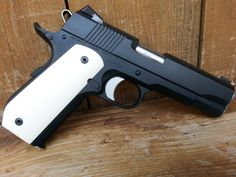 My Dan Wesson Guaridan 9mm with Ivory Elephant Grips from Thefinergrain.com