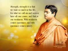 Swamiji said to the world....