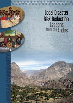 Carátula de publicación Local Disaster Risk Reduction de la Comunidad Andina Community
