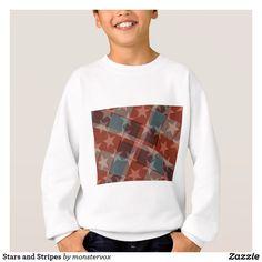 Stars and Stripes Sweatshirt #StarsandStripes #Flag #USA #Indepence #Holiday #Shirt #Tshirt #Tee