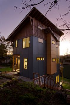Mix Roof Modern House Design on beach house roof design, concrete sloped roof design, lean to shed roof design,
