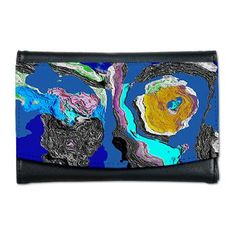 Gang Aft Agley Mini Wallet Simulated Paint, Spilt and Dried  $31.19