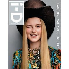 i-D Magazine Summer 2015 Covers 35th Anniversary Issue ❤ liked on Polyvore featuring magazine