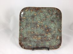 Square Serving Platter Pottery Handmade by PotterybyNoell on Etsy