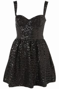 A bit early but wouldn't this make the perfect Xmas party dress from Topshop?