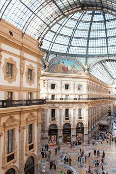 Galleria Vittorio Emanuele II - Milan, Italy.