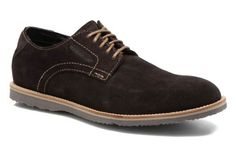 Chaussures à lacets Jd plain toe Rockport vue 3/4