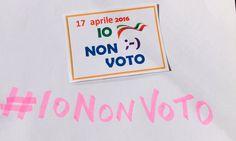 """Davide Silvestri su Twitter: """"Perché l'obbiettivo è #Renzi altroché #trivelle #iononvoto mai con #fasciogrillini #referendumbufala…"""