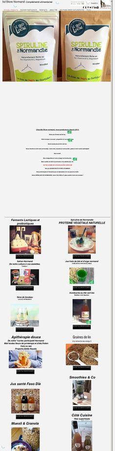 Bio store normand    Compléments alimentaires naturels et 100% normands - Authieux-Ratiéville, Seine-Maritime, Normandie