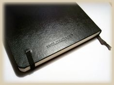 100 ways to hack your moleskin notebook