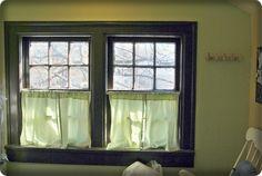 Curtain idea for baby room