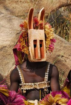 dogon culture african mask Los Angeles african art collections available at African Masks, African Art, African Style, African Fabric, African Women, Estilo Tribal, Tribal Costume, African Tribes, Masks Art