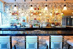 Creative. Scarpetta at the Fontainebleau hotel, Miami Beach. Designer: David Collins.