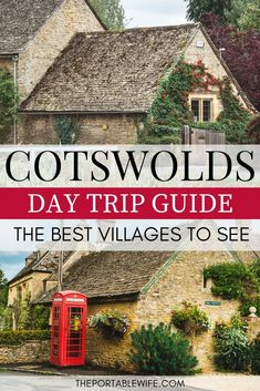 A Perfectly Charming Cotswolds Day Trip Itinerary Visit the best Cotswold villages in one day with this Cotswolds driving itinerary. The Cotswolds villages of Castle Combe, Slaughter, Chipping Campden, and Painswick are full of charming English. Sightseeing London, London Travel, Uk And Ie Destinations, Holiday Destinations, Cotswold Villages, Castle Combe, Destination Voyage, Europe Travel Tips, Travel Uk