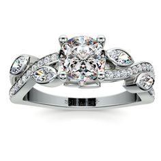 Stunning conflict-free and certified diamond engagement rings and settings. Browse our collection of unique and designer rings, or customize your own ring!