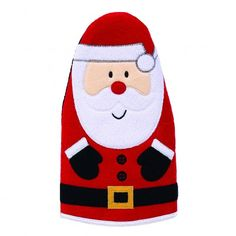 Santa Claus Mitts - Colourful and Festive!