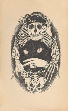bones-cat-etching-skeleton-skull-Favim.com-240740_large.jpg (433×700)