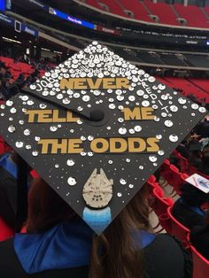 Star Wars Grad Cap, great for a film major like me