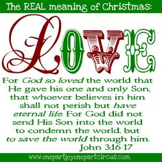 one part joy one part circus the real meaning of christmas meaning of love