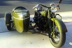 1940 Indian Chief with a SIDECAR!!!!