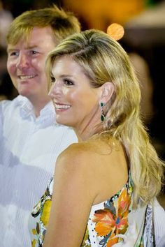 MYROYALS &HOLLYWOOD FASHİON: King Willem-Alexander and Queen Maxima visit Curacao / 18 Nov 2013
