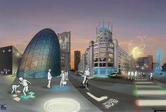 """De gemeente Eindhoven onderzoekt de effecten van adaptieve straatverlichting in de buurt Achtste Barrier: slimme LED-straatverlichting die door middel van sensoren reageert op de beweging van weggebruikers in de omgeving. De gemeente werkt in dit onderzoek samen met de Technische Universiteit Eindhoven (TU/e), Philips en partners uit het bedrijfsleven. """"Wij bieden als stad graag een More Info »"""