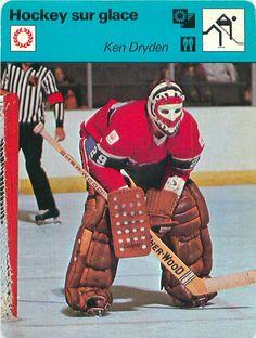 FICHE CARD: Ken Dryden Canada Gardien de but Hockey sur glace ICE HOCKEY 1970s   eBay Hockey Goalie, Hockey Players, Ice Hockey, Hockey Girls, Hockey Mom, Montreal Canadiens, Ken Dryden, Canada Hockey, Goalie Mask