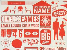 charles and ray eames graphic design - Google Search