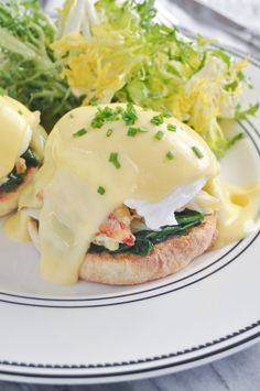 dungeness crab eggs benedict   #OMG   #ThisLooksAmazinglyDelicious