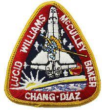 PIN enamel vtg NASA Space Shuttle ATLANTIS STS-34 mission Williams Chang Diaz