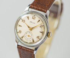 Retro men's wrist watch KAMA Soviet classic watch by SovietEra
