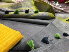 Linen Saree: /- Free COD For query and exact description in Whatsapp Catalog Name: * Linen Sarees* Fabric.