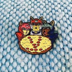 Repost @viciouskill Who you gonna call when you want some pepperoni? Samurai Pizza Cats pin is here! Perfect for lovers of cats pizza and anime! Get yours at viciouskill.com link in bio (Posted by https://bbllowwnn.com/) Tap the photo for purchase info. Follow @bbllowwnn on Instagram for the best pins & patches!