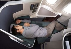 Best Airline Seats: Cathay Pacific Business Class