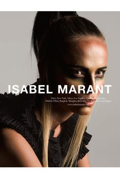 Natasha Poly for Isabel Marant S/S 2015.