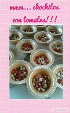 Chochitos con tomate... para unos huesitos muy fuertes❤